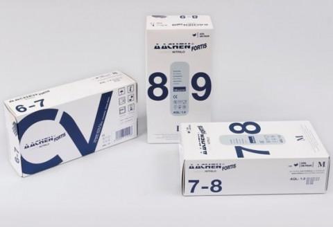 Paquete de guantes de nitrilo aachenfortis